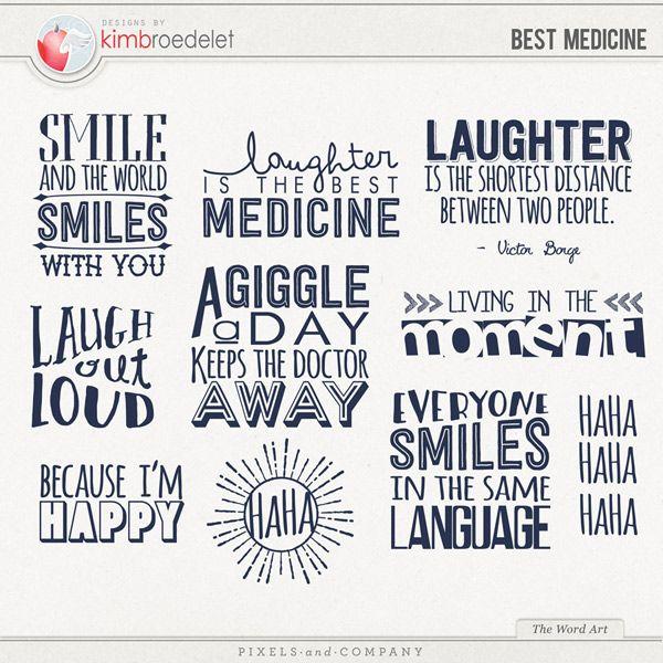 Best Medicine The Word Art Druckvorlagen Vorlagen Drucken