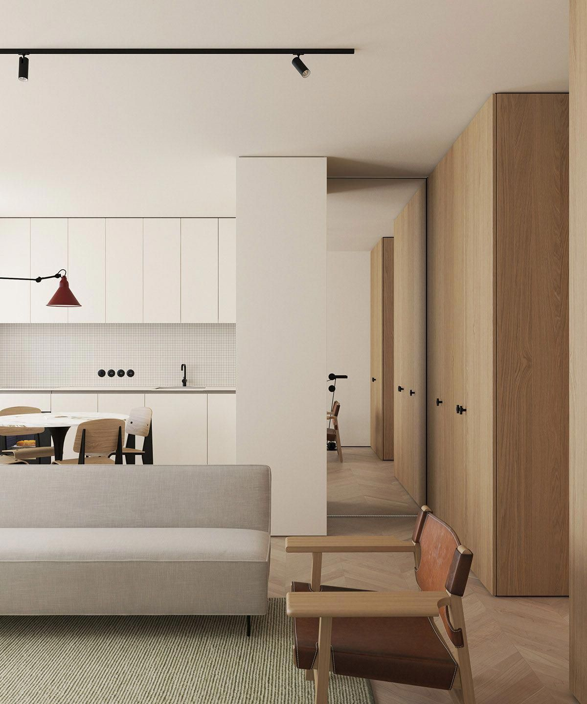 Contemporary Interior Design Ideas Apartamento Contemporaneo Interior Minimalista Diseno Moderno