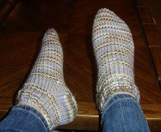 Tara's Knits: Chunky Ankle Socks, free pattern | Knitting ...