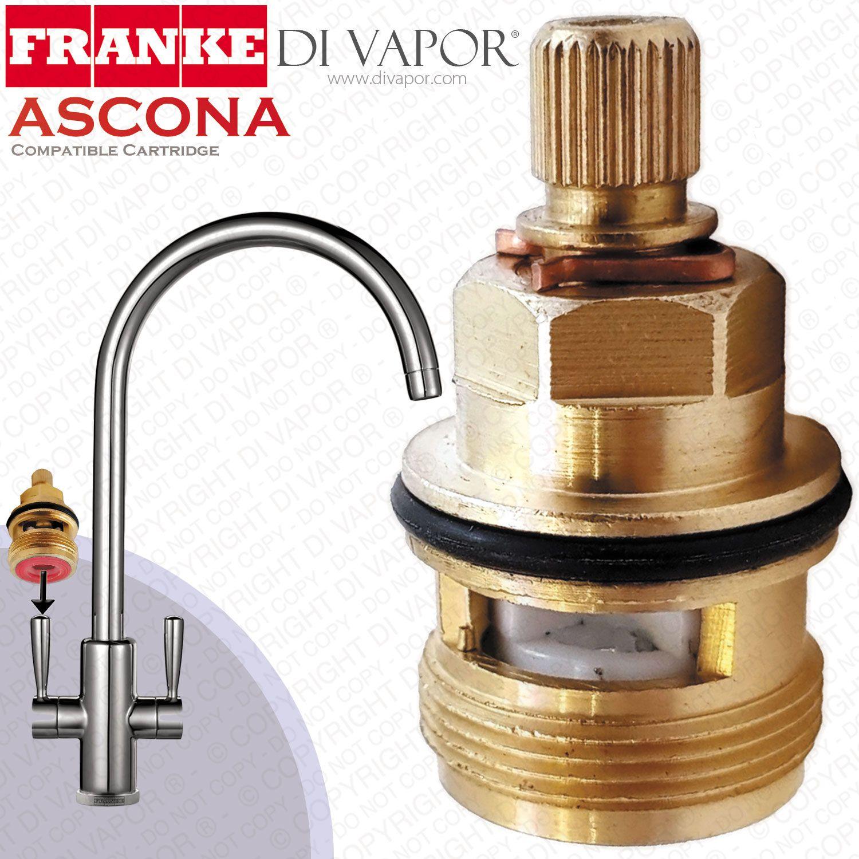 Franke Ascona 3794r H Tap Valve Cartridge Spare Hot Side 133 0358 053 Sp3308 115 0158 976 Compatible Cartridge Tap Valve Kitchen Taps Cartridges