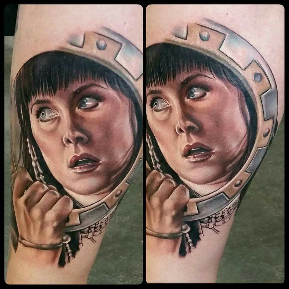 Sarah Miller tattoo. Xena warrior princess. Xena warrior