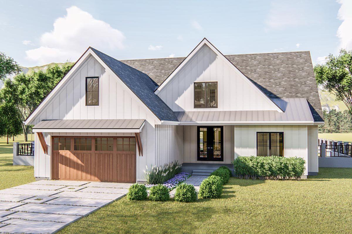 Plan 62762dj Exclusive Modern Farmhouse Plan Offering