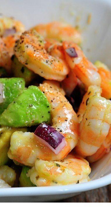 Photo of Shrimp Avocado Salad Recipe