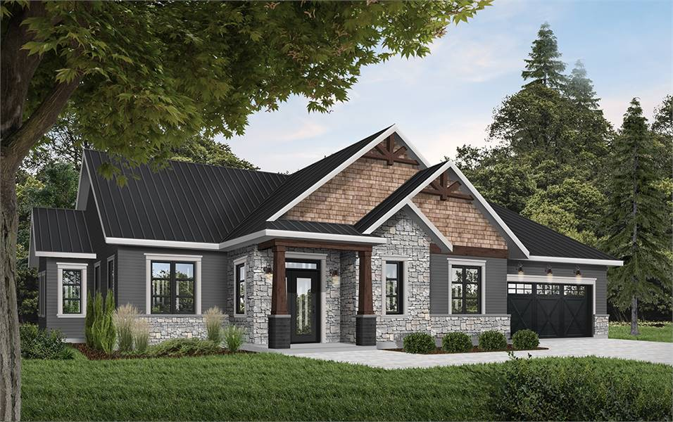 Rustic Country Style House Plan 6090 Providence 3 Country Style House Plans Ranch Style House Plans Craftsman Style House Plans