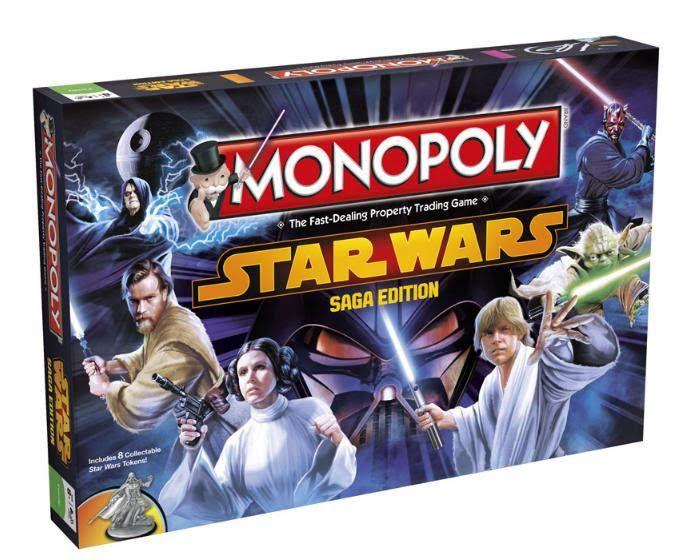 Monopoly De Star Wars Juegos De Mesa Y De Tablero Juegos De Mesa