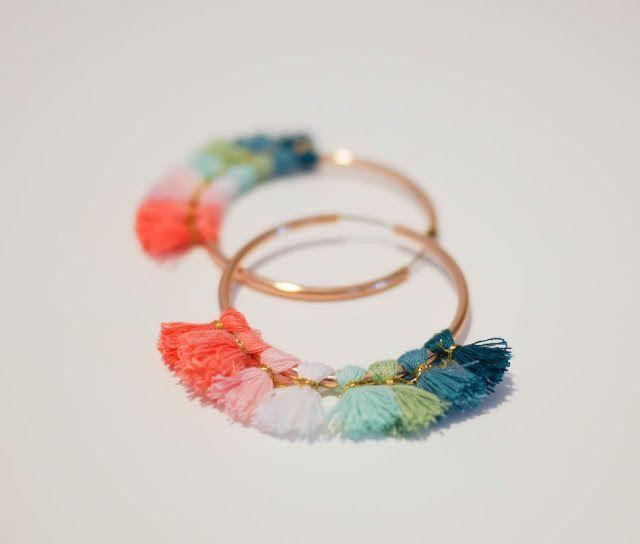 earring créoles diy - Cerca con Google