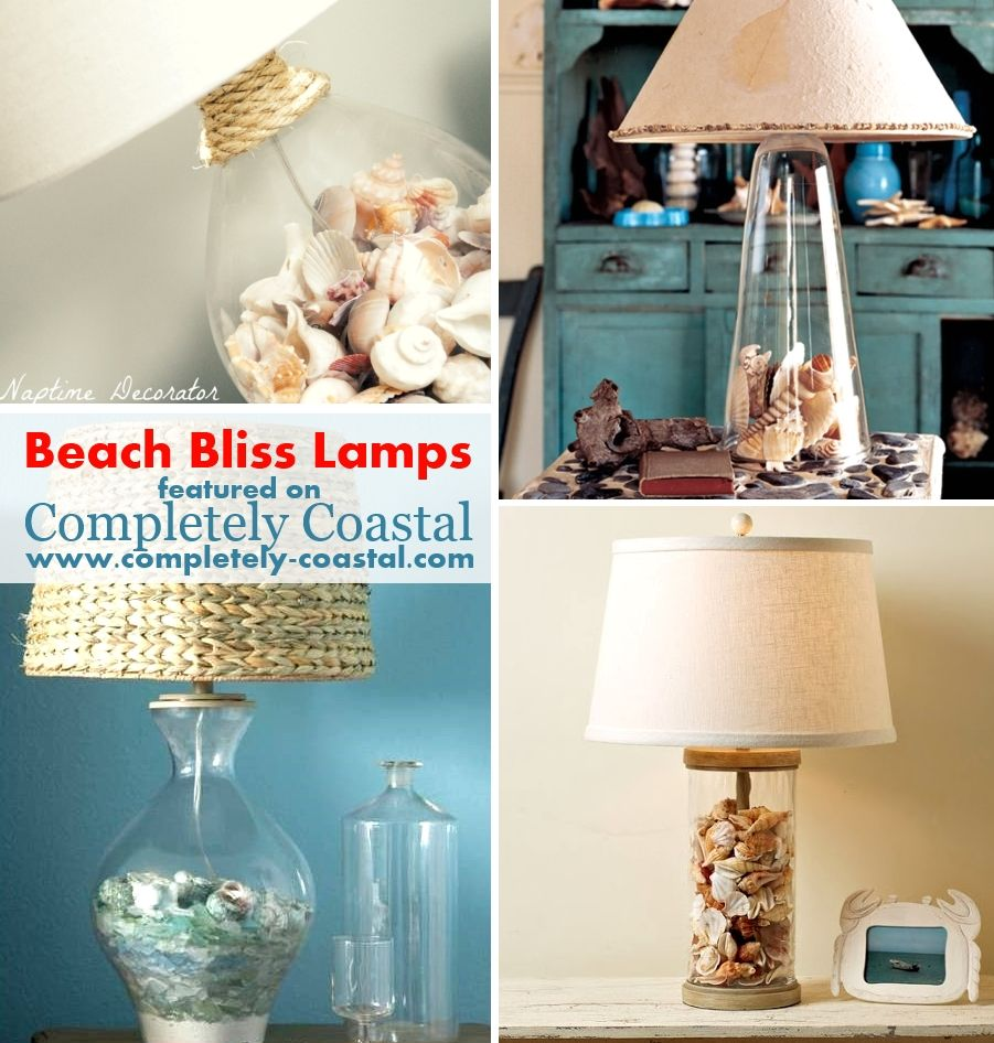 Filled gl lamps. The best beachcomber lamps ever. #gllamps ... on blue garden ideas, blue wallpaper ideas, blue landscaping ideas,