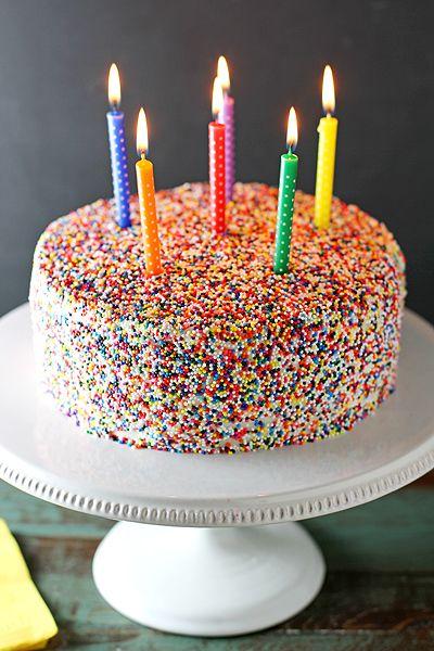 Vanilla Bean Birthday Cake Recipe Cakes Cupcakes Pinterest