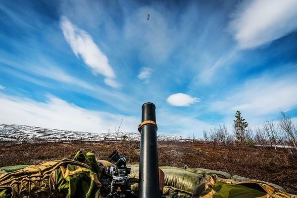 Norwegian Army L16A2 (M252) 81 millimetri