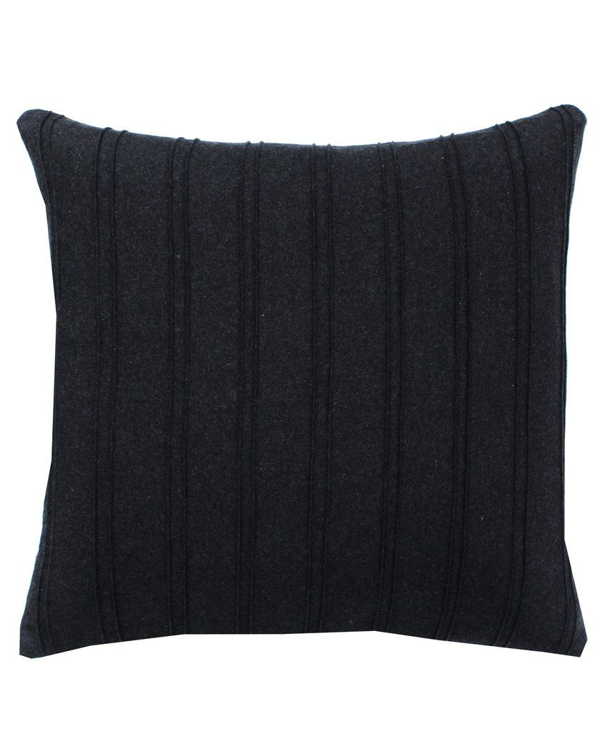 Throw Pillows Charcoal : Charcoal Pleated Throw Pillow Home Accessories Pinterest Charcoal, Throw pillows and Pillows