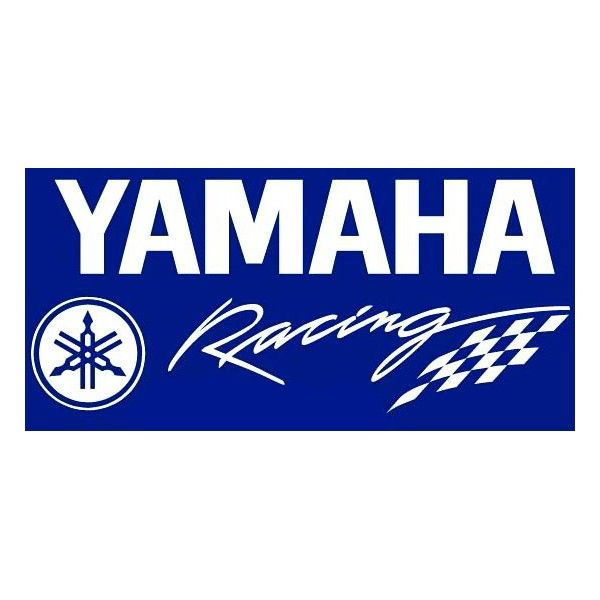 Yamaha logo with flames for FZ FZs Fazer RX100 R15 Pair of 2