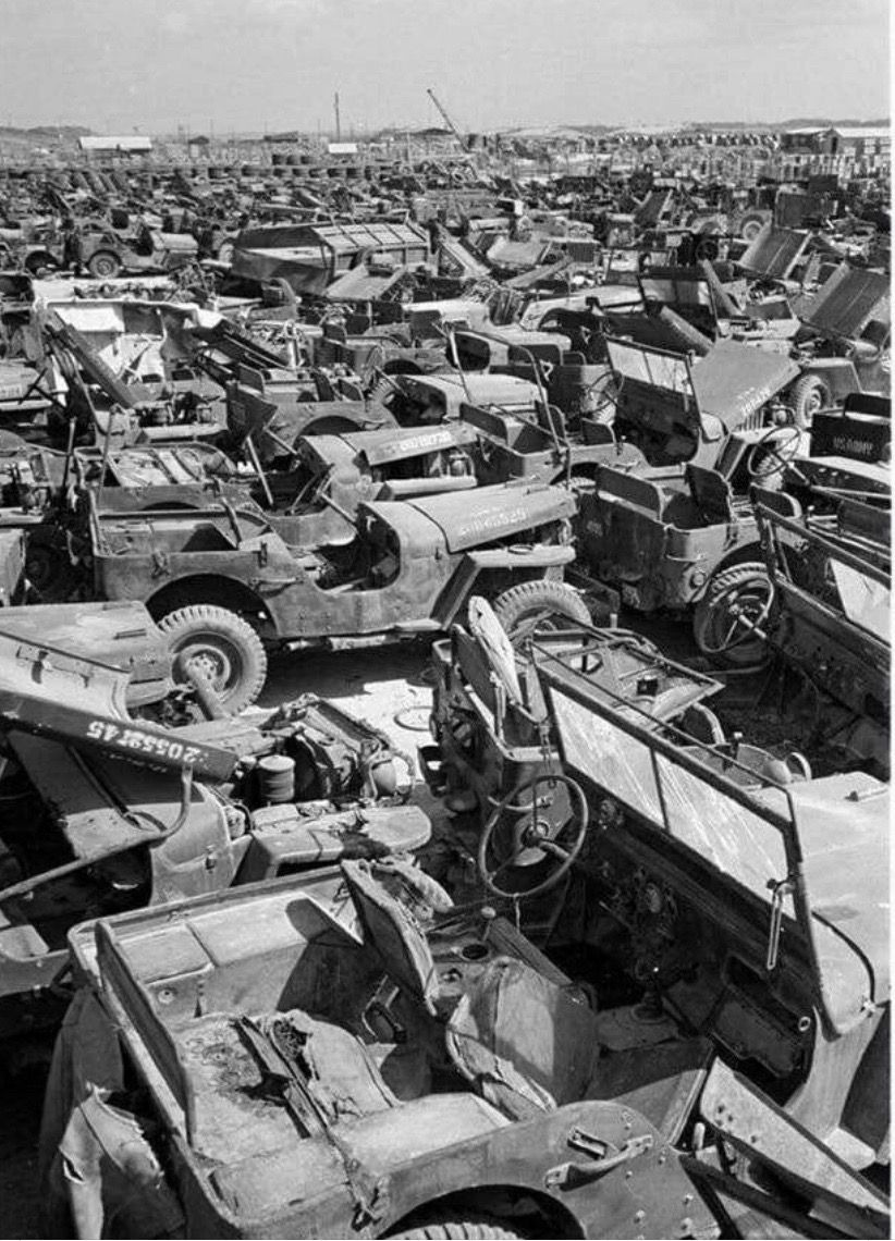 Pin by TRJohnson on Junk yards Willys, Vintage jeep