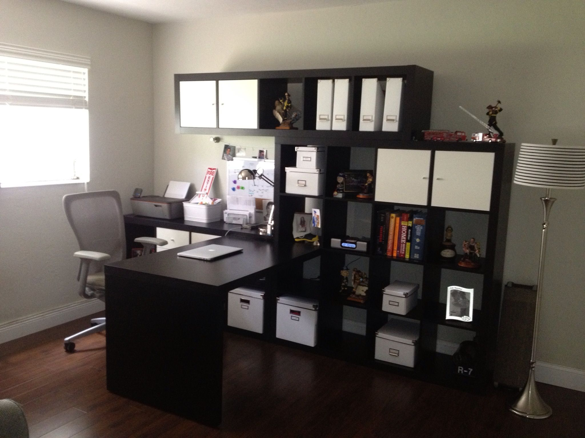 Ikea Home Office...simple and functional Ikea home