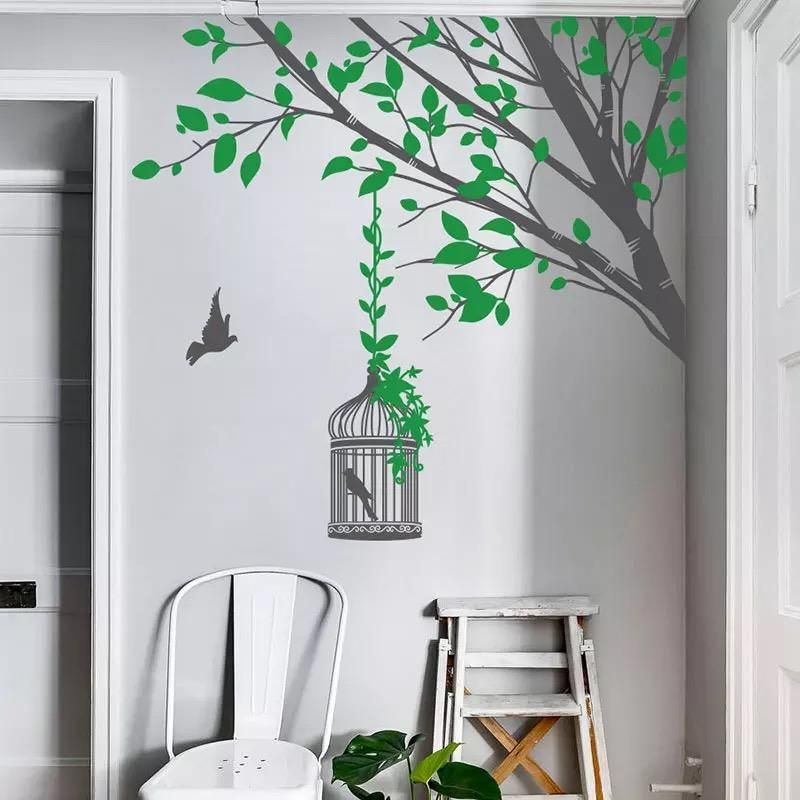 Tree Branch Wall Decal In 2020 Tree Branch Wall Wall Decals Dry Tree