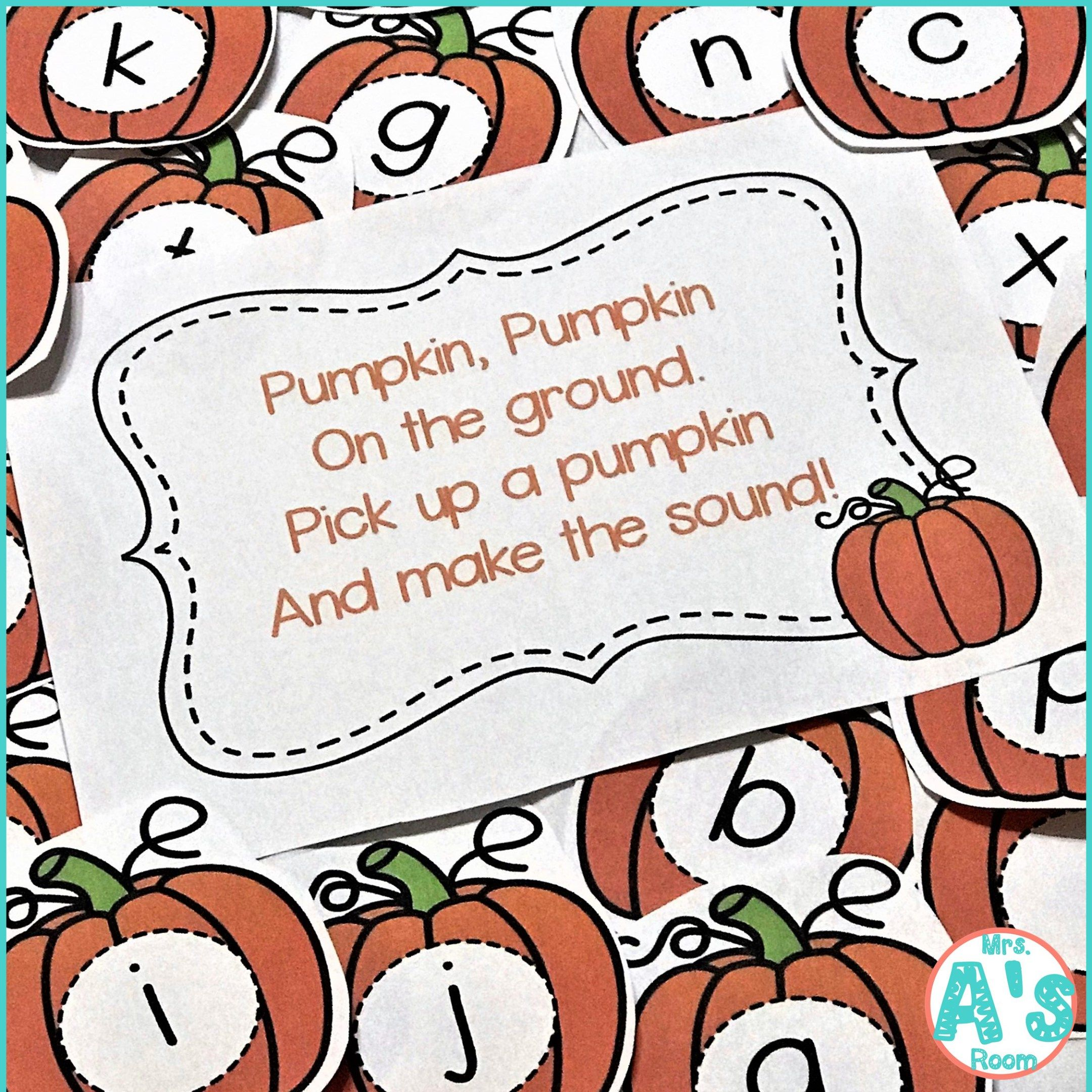 Pumpkins Circle Time Games