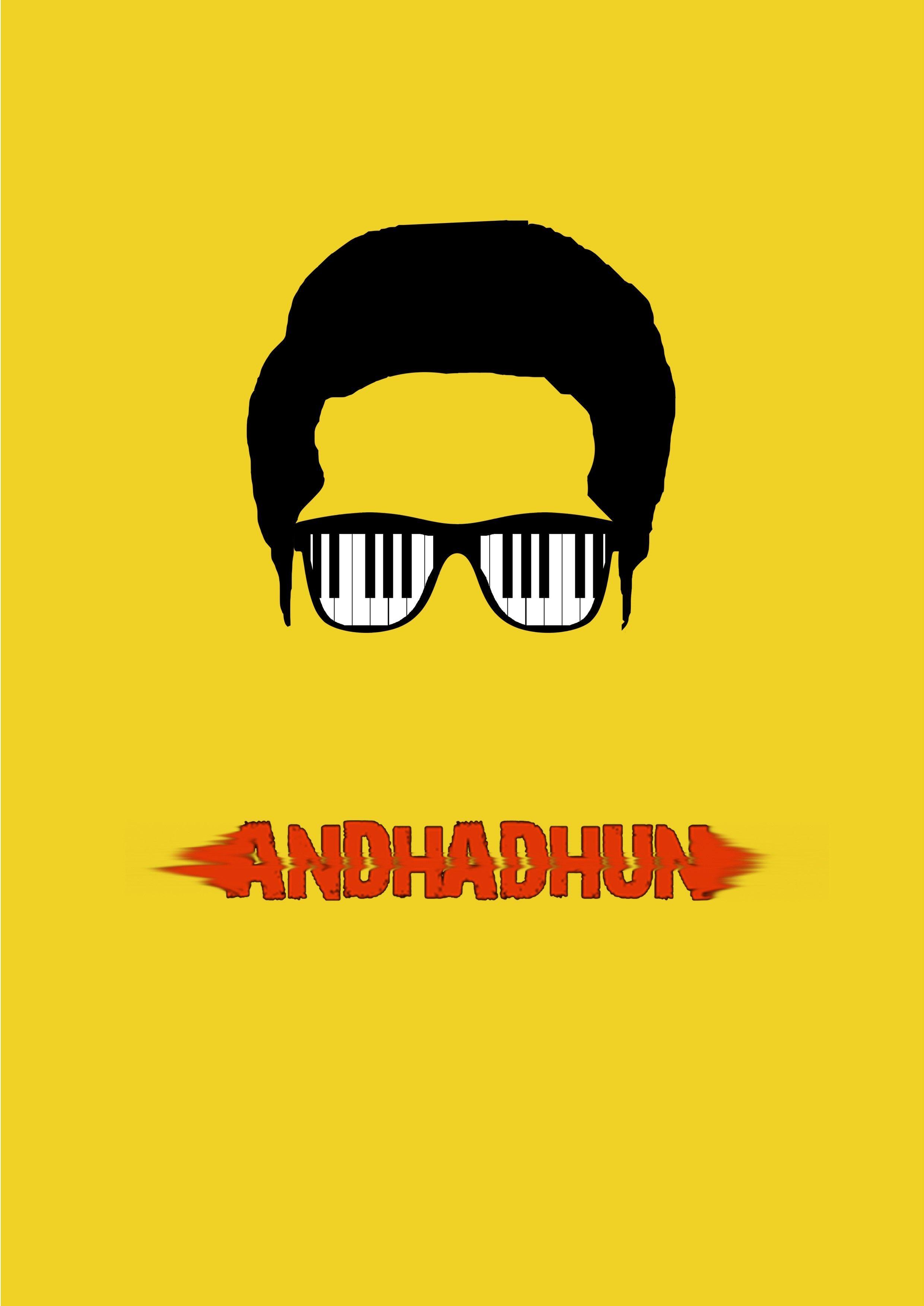 Andhadhun 2018 Minimal Movie Poster In 2020 Movie Posters Minimalist Iconic Movie Posters Movie Posters Design