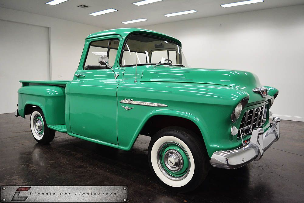 1955 Chevrolet Pick up Big Back Window Short bed For Sale - Classic ...
