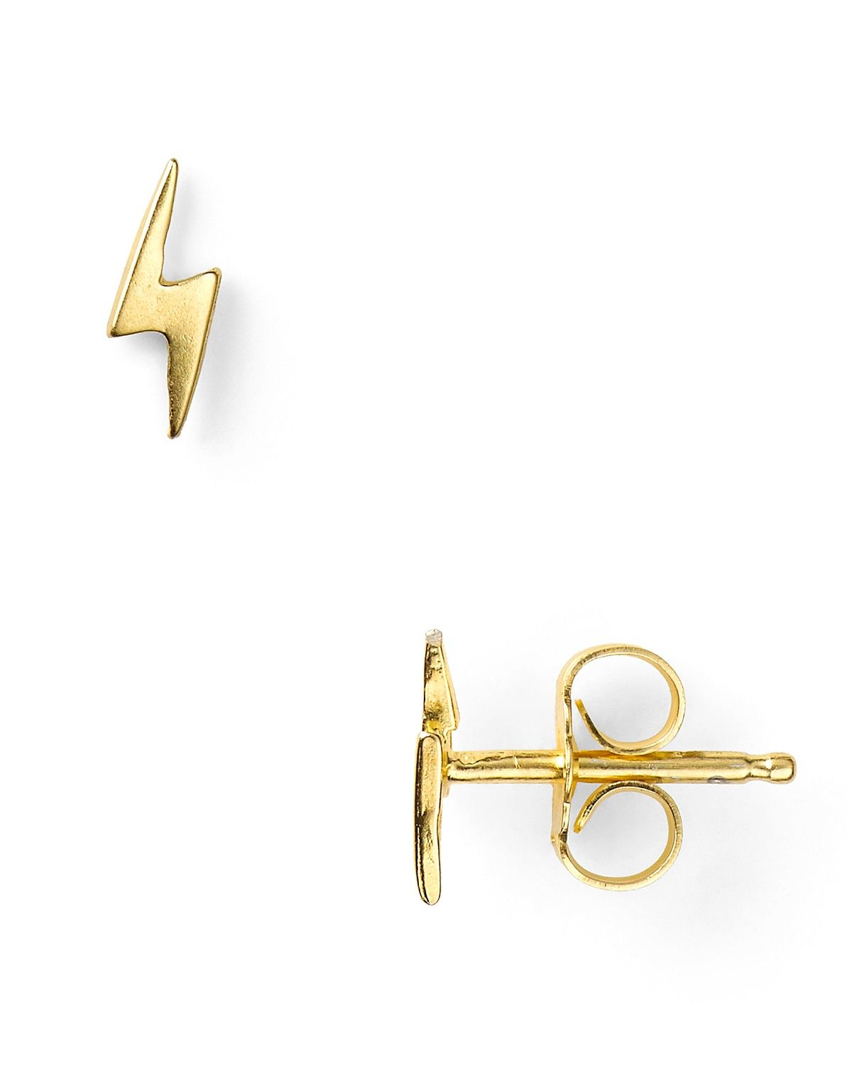 product bolt baby earrings lightning babyanything stud anything
