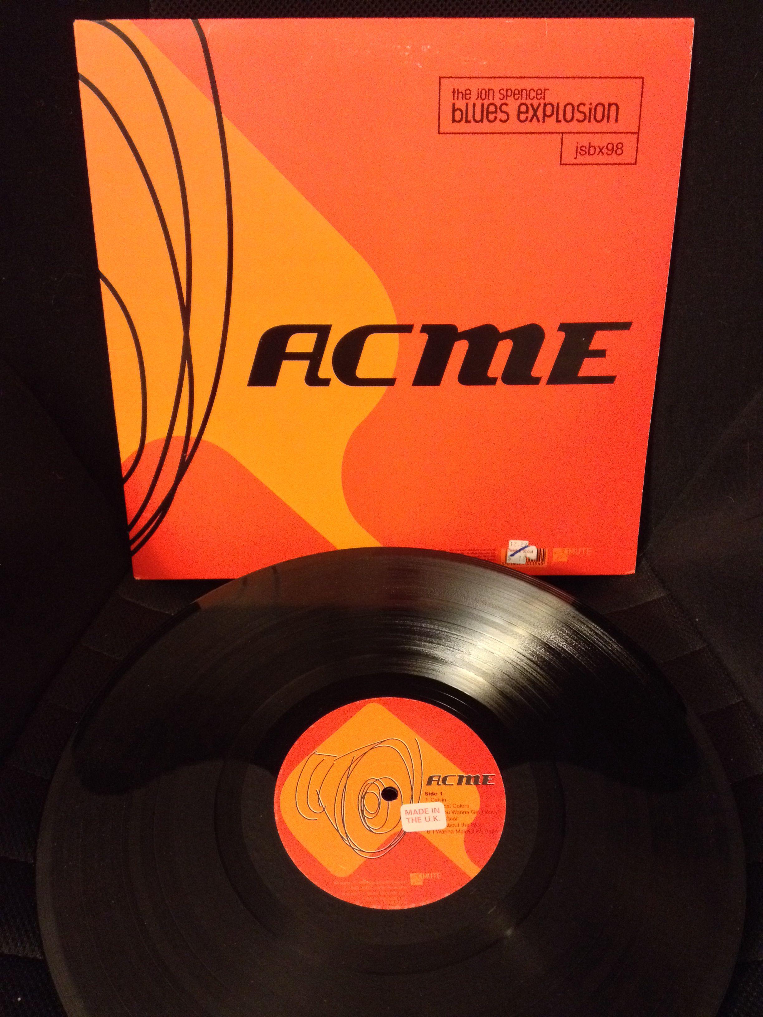 The Jon Spencer Blues Explosion Acme Vinyl Records Blues Explosion