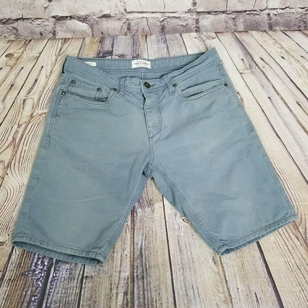 Jack /& Jones Rick Original Regular Fit Denim Shorts