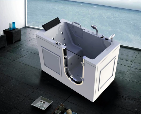 56 Deluxe Jetted Walk In Bath Tub Hydrotherapy Whirlpool Spa