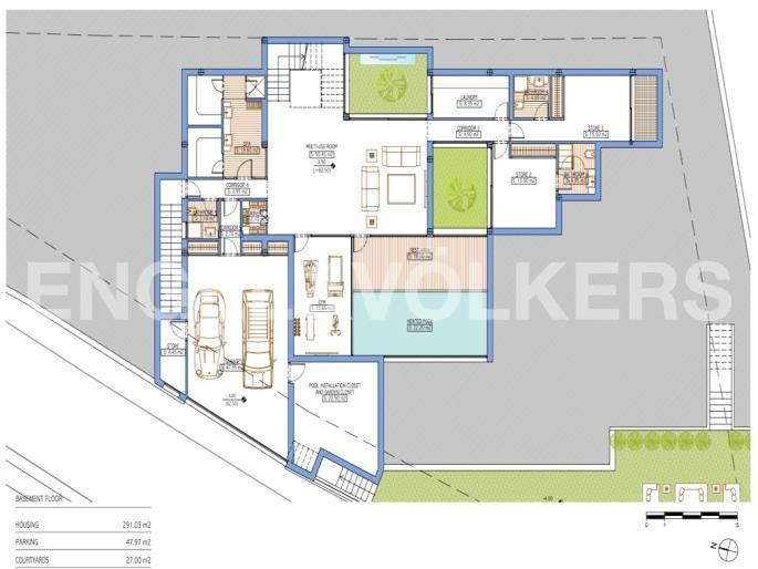 Plano Vivienda tipo Ciudalgolf FLOOR PLAN SPAIN Pinterest