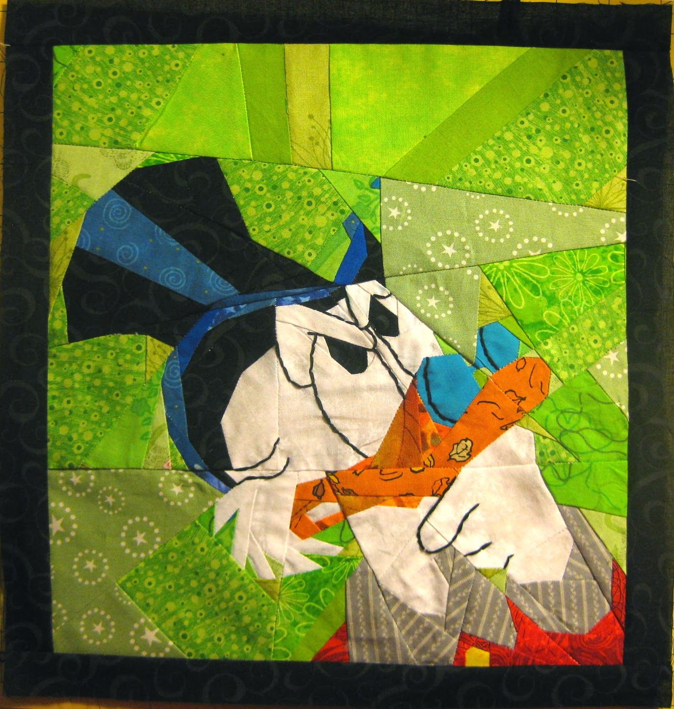 Quilt&StitchTestAlong - Alice in Wonderland, Donald Duck & Mickey Mouse! Free patterns