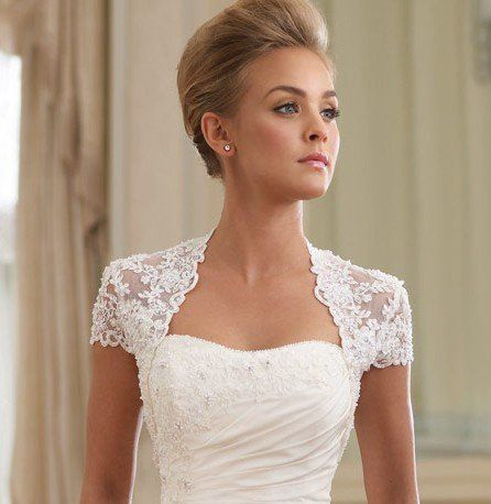 Cheap Jacket Zipper Buy Quality Pu Directly From China Bead Suppliers 2014 Shipping White New Arrilval Hot Selling Cap Sleeves Lace Beads Bridal