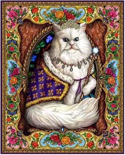 "Lewis at. Johnson ""Majestic Cat"""