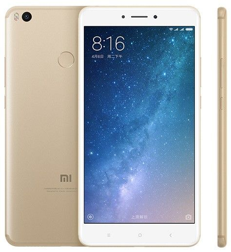 Xiaomi Mi Max 2 4gb 128gb Android 7 0 Snapdragon 625 4g Lte