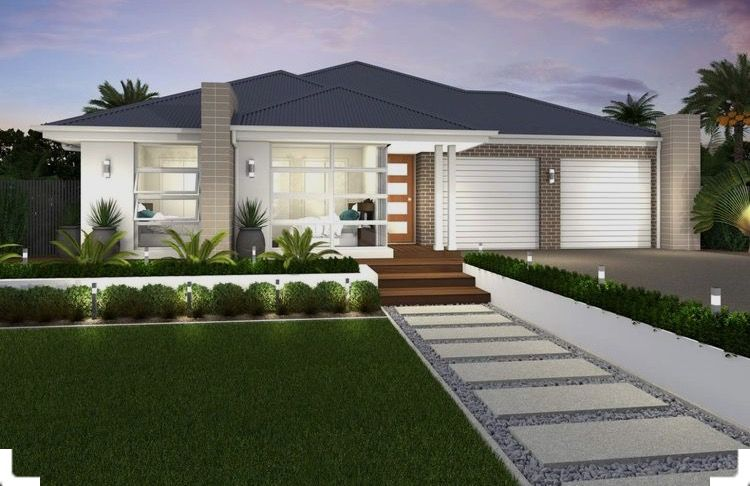 Pin By Rachel Wilson On House Ideas Modern Front Yard Yard