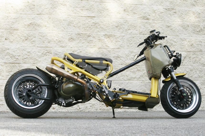 rpro mad max gy6 exhaust system mad