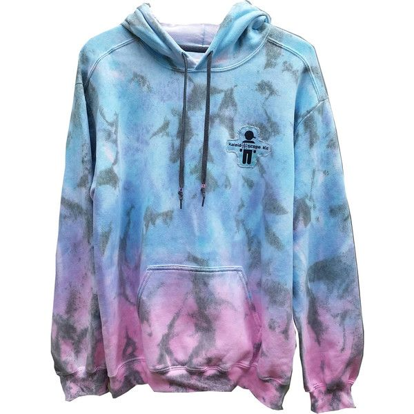 83310966e0391 Cotton Candy Ombre Tie Dye Hoodie, Dip Dyed, Adult, Unisex, Size ...