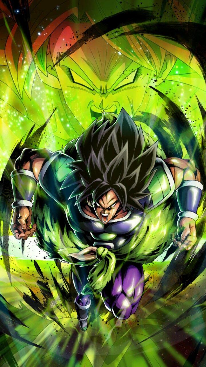 Pin De Raul En Dragon Ball Z Wallpaper Broly Ssj Pantalla De Goku Personajes De Goku