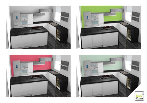 Exemple Simulation Peinture Cuisine Couleur Peinture Cuisine Peinture Cuisine Couleur Peinture