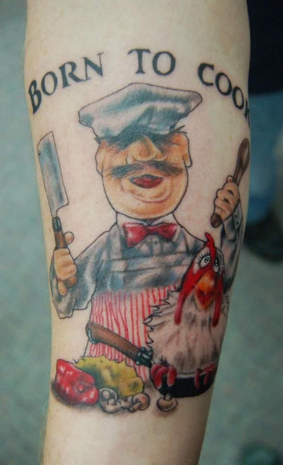 swedish chef tattoos pinterest swedish chef tattoo and tatting. Black Bedroom Furniture Sets. Home Design Ideas