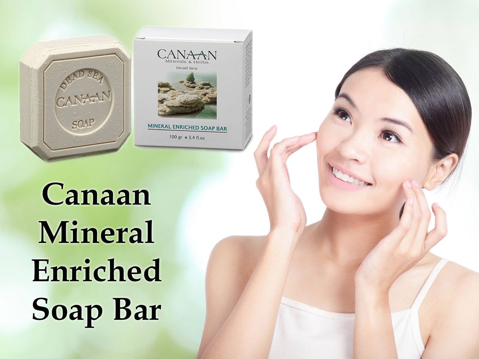 Canaan Mineral Enriched Soap Bar Makes Your Face And Body Firmed. Buy Our Cosmetic Products & Win FREE Customer Club Card! For More Information Visit Us At www.cosmeticsmall.com.ph Or Click Here (http://tinyurl.com/o8qvd56) And Leave Your Details. We Will Call You Back! #theholylandmall #free #customerclubcard #members #holylandmallbenefits #newproduct #holylandmallcosmetics #canaan #mineral #enriched #soapbar #cosmetics #holyland #israel