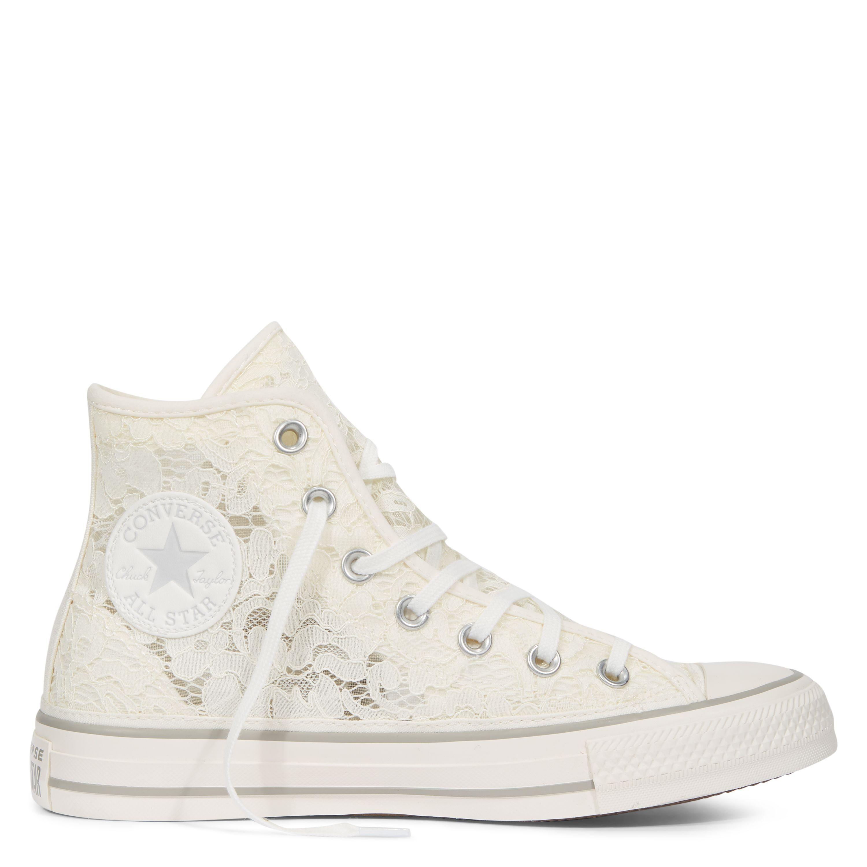 9febe6b4e555 Chuck Taylor All Star Flower Lace White White Mouse white white mouse