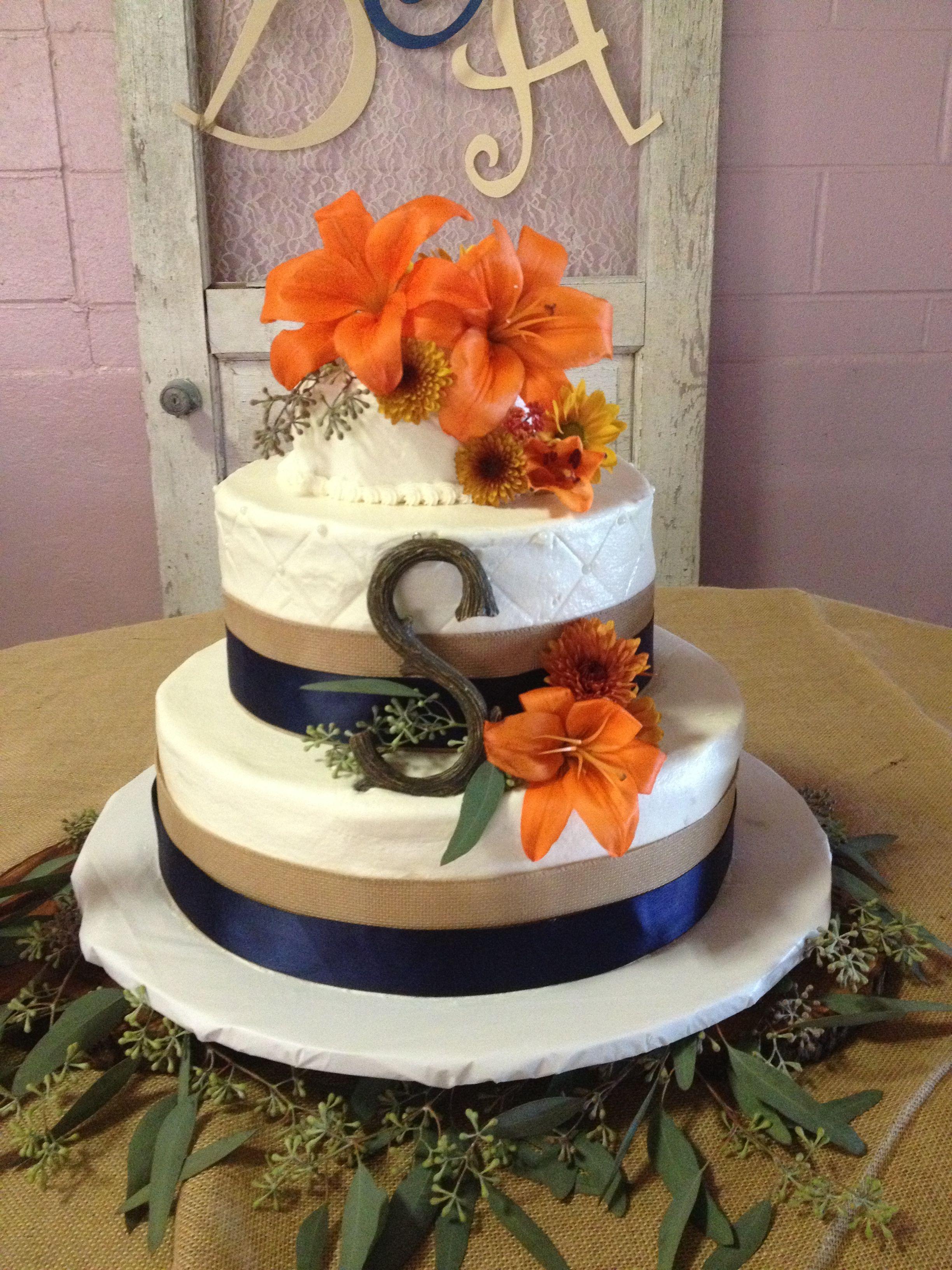 Best Romantic Weddings: burlap wedding cakes | burlap
