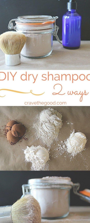 Dry Shampoo 2 Ways Homemade Dry Powder Shampoo And Spray Dry Shampoo That Really Works At A Fraction Of Th Diy Dry Shampoo Homemade Dry Shampoo Dry Shampoo