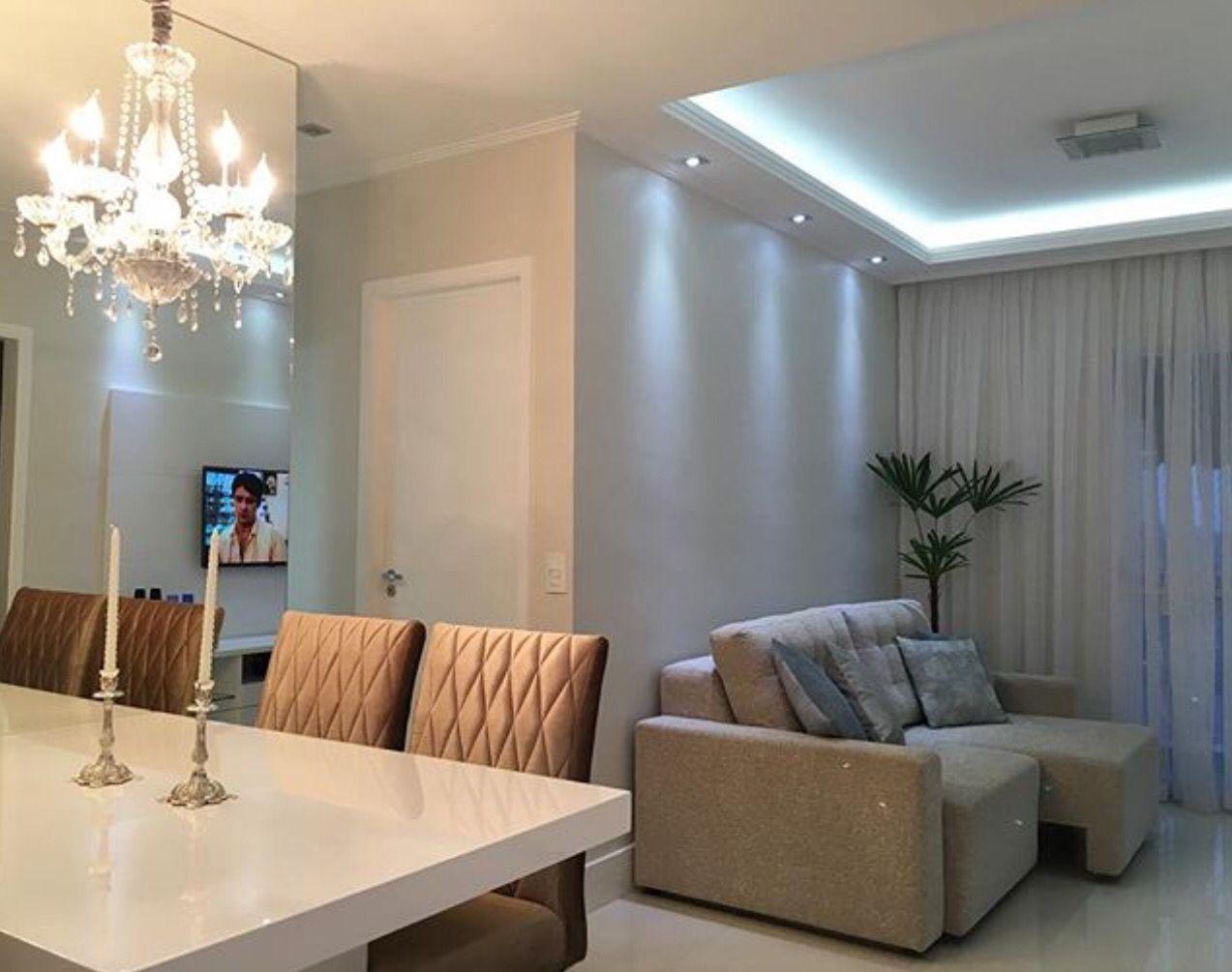 Sala Living Saladejantar Lustre Decora O Pinterest Sala De  -> Lustre Para Sala De Tv