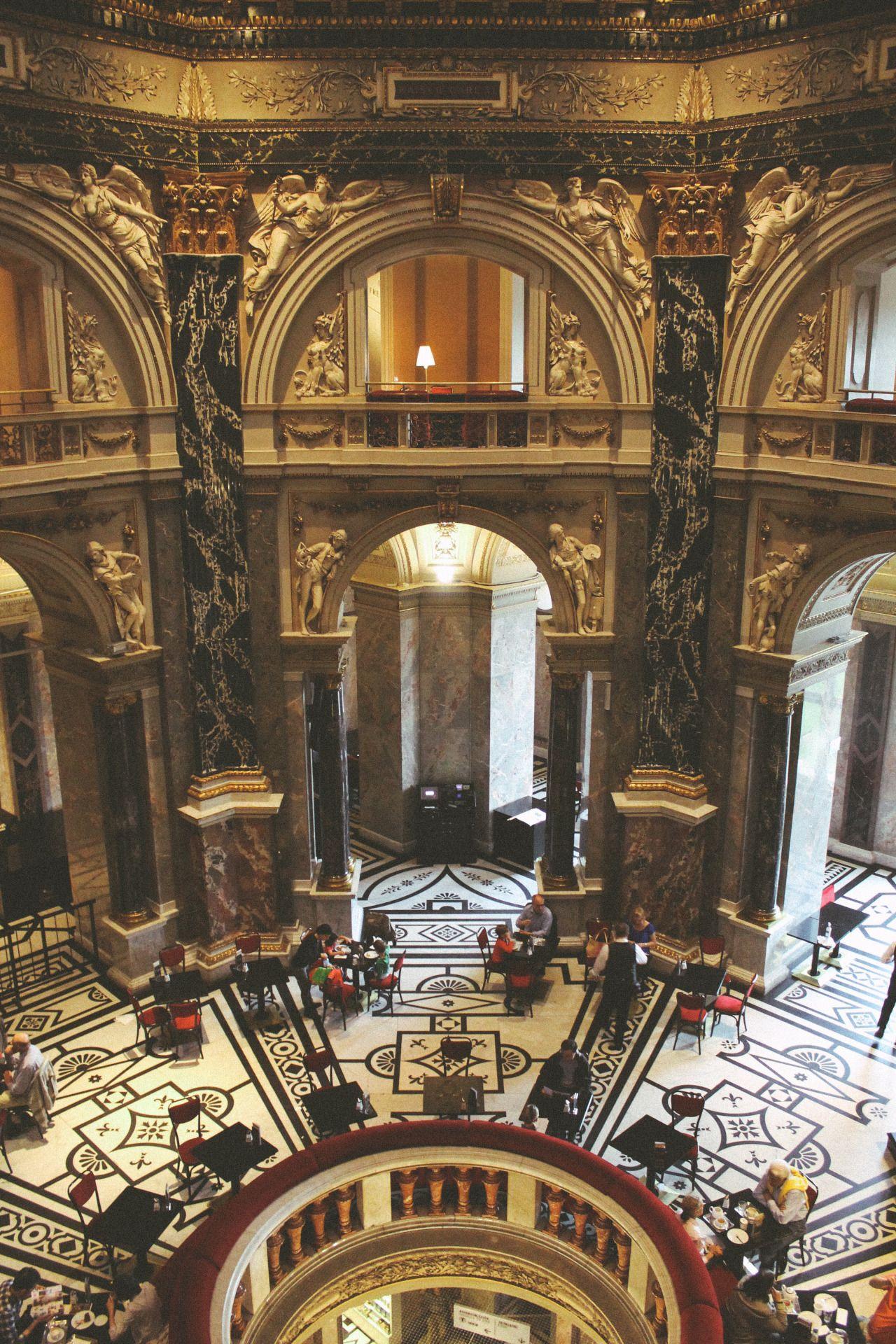 """wanderlusttour: """" Kunsthistorisches Museum Vienna, Austria by Hanna Taylor """""""