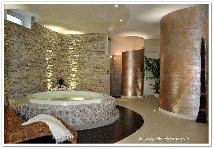 bagno effetto spa - Cerca con Google  Bagni stupendi  Pinterest  Vasca da bagno, Spa e Casalinga