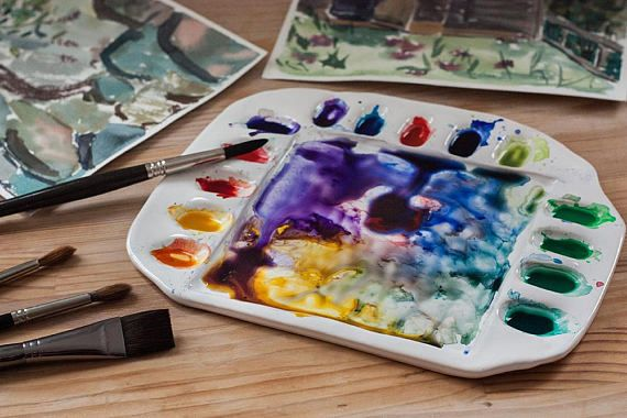 Awesome Artist Gift Christmas Gift Watercolor Palette Made Of
