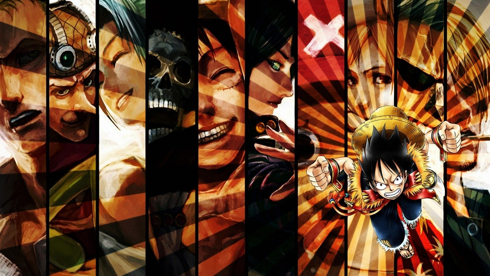 one piece luffy anime HD wallpapers desktop backgrounds