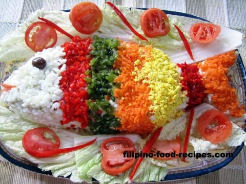 Steamed fish with mayonnaise filipino recipes for Filipino fish recipes