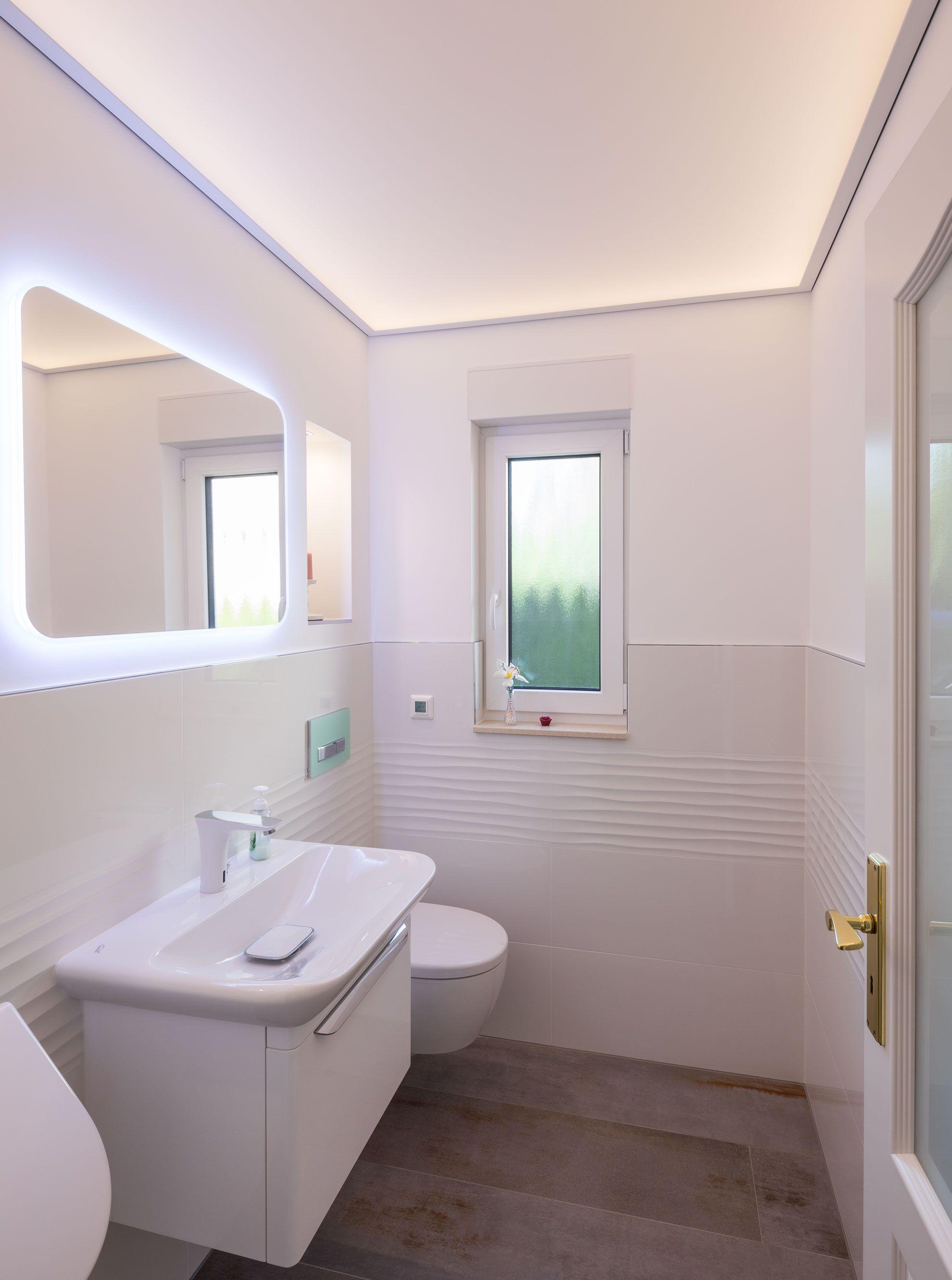 Inspiration für die Beleuchtung der Badezimmer Decke