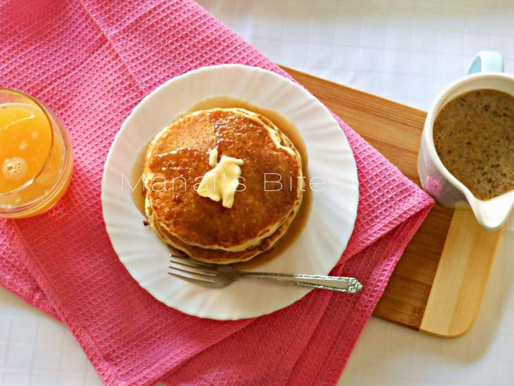 صوص او سيرب البان كيك بالقرفة Recipes From Heaven Food Breakfast