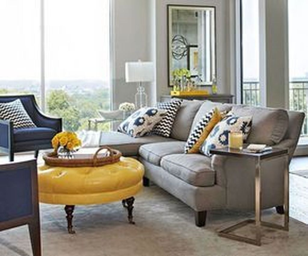 37  stylish yellow living room color schemes design ideas