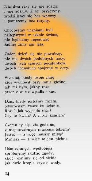 Wisława Szymborska Nic Dwa Razy Szczęśliwe Cytaty